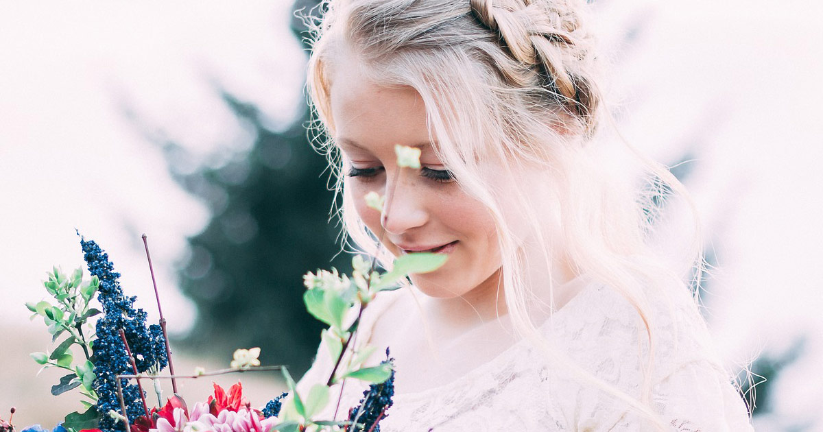 כלה ביום הנישואים שלה